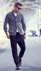 how to wear jogger with shirt