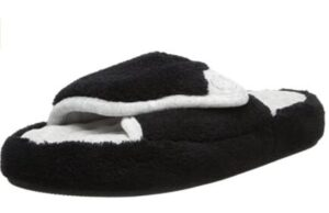 women slippers with open top design