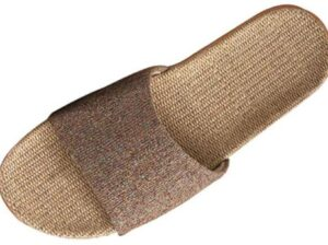 breathable indoor mens slippers