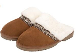 arch support women scuff slippers