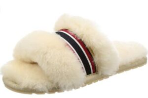 warm open toe slippers for outdoors