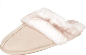 thick fur slippers for cold weather