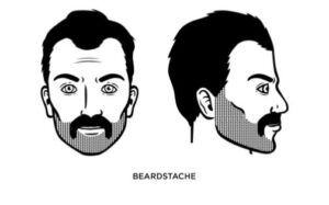 how to trim a thin mustache
