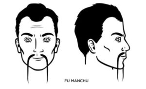 how to trim moustache with scissors