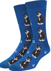 cute mens cat socks