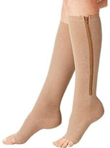 best rated zippered compression stockings