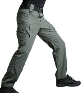 grey work pants for cooling