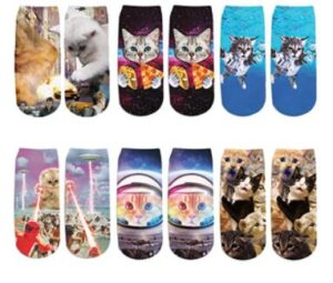 cute cat socks for men