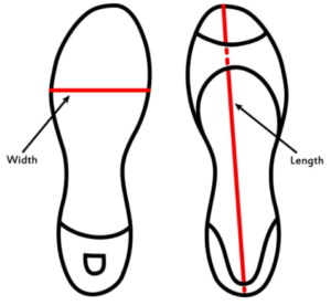 how to get right size of sandal