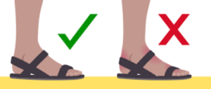 how to get sandals that fit