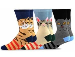 cat socks for men