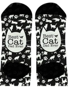 black cat socks for men