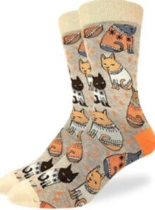 most comfortable cat socks for men