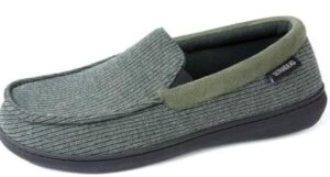 mens slippers for high instep