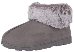 womens boot slippers with outdoor soles